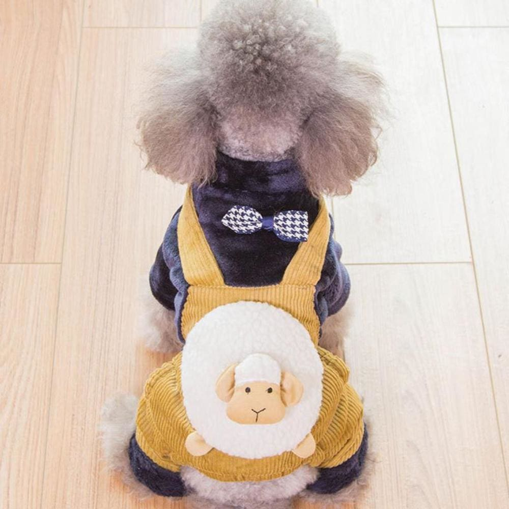 Dapper Joe Dog Dungaree Costume - Dog Clothes