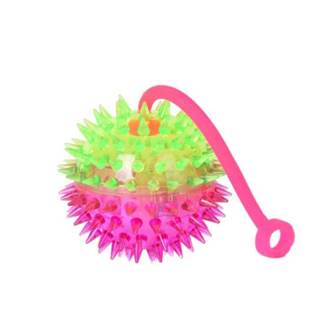 Dog Toy Luminous Elastic Spiky Ball - Dog Toys