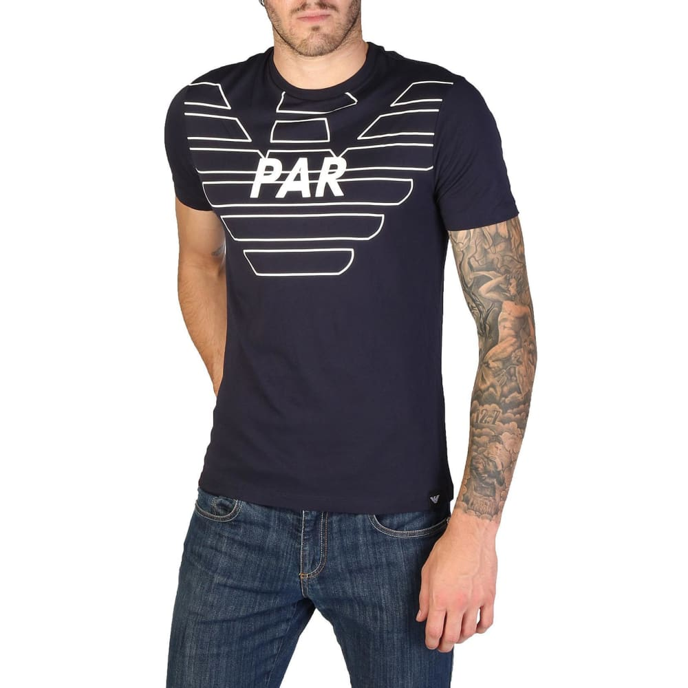 Emporio Armani - 3Z1T76 - Clothing T-Shirts - Blue / S - Clothing T-Shirts