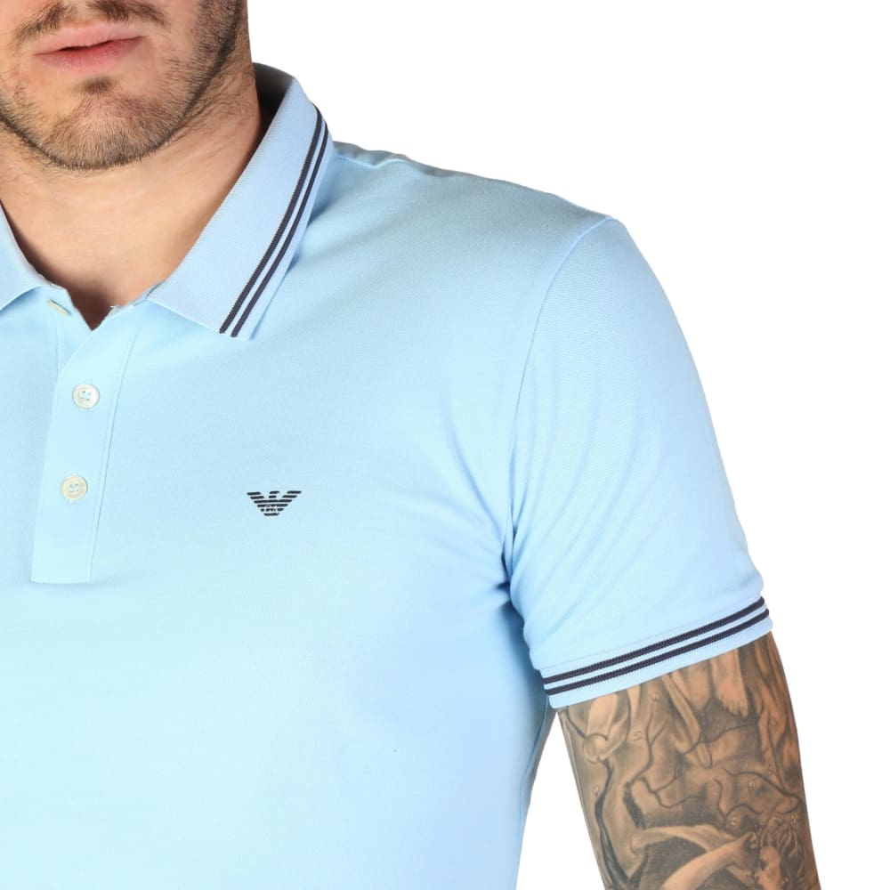 Emporio Armani - 8N1F30 - Clothing Polo - Clothing Polo