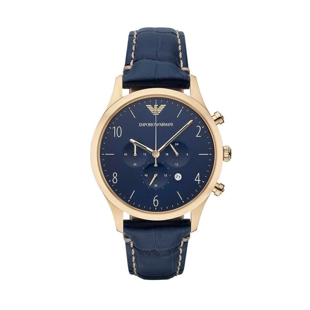 Emporio Armani - Ar3 - Blue / Nosize - Accessories Watches