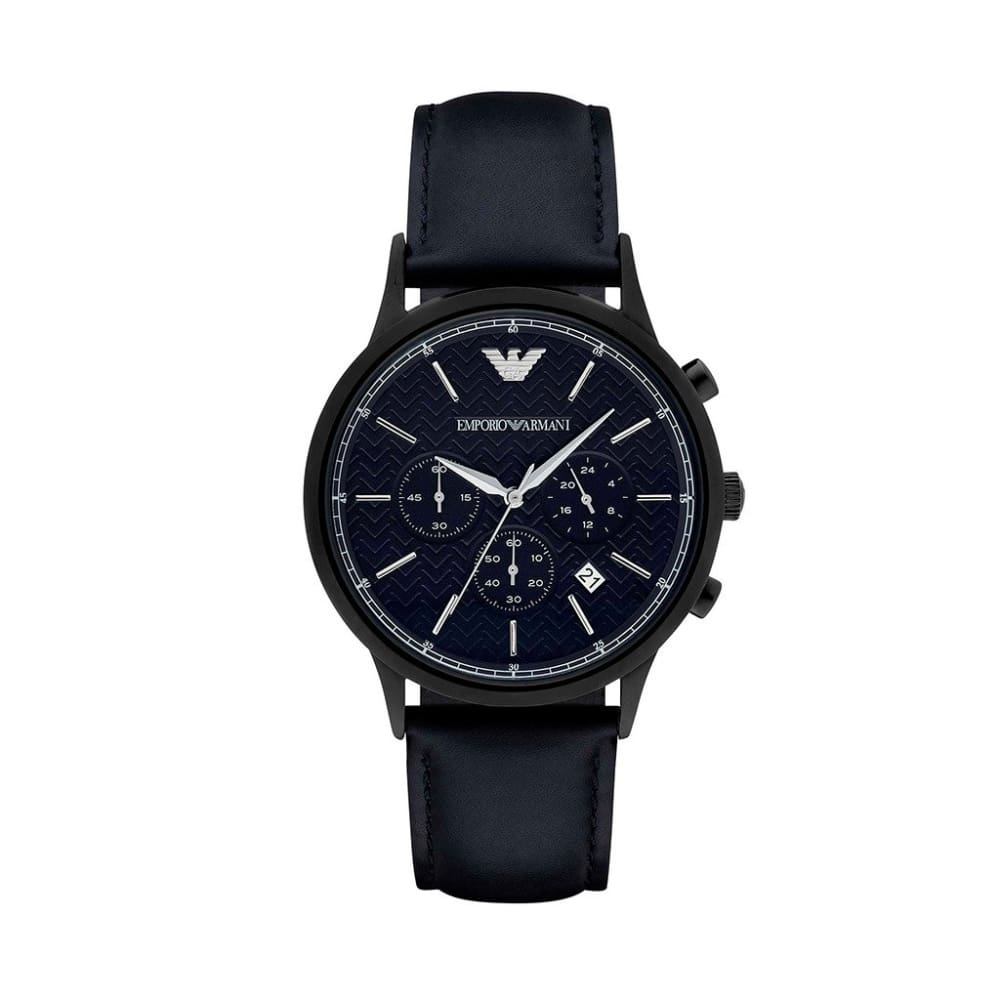 Emporio Armani - Ar81 - Black / Nosize - Accessories Watches