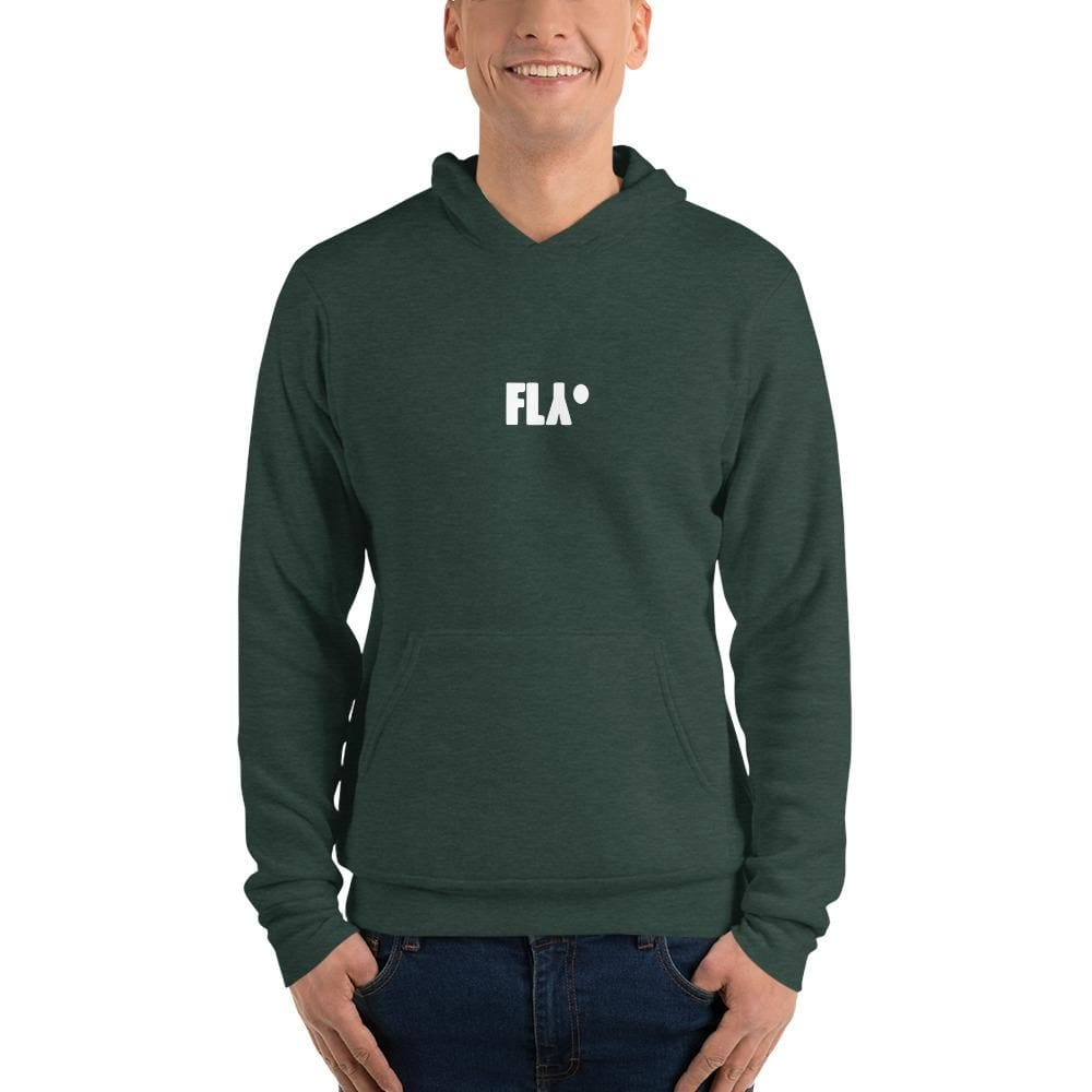 Fly Unisex Hoodie - Heather Forest / S - Hoody