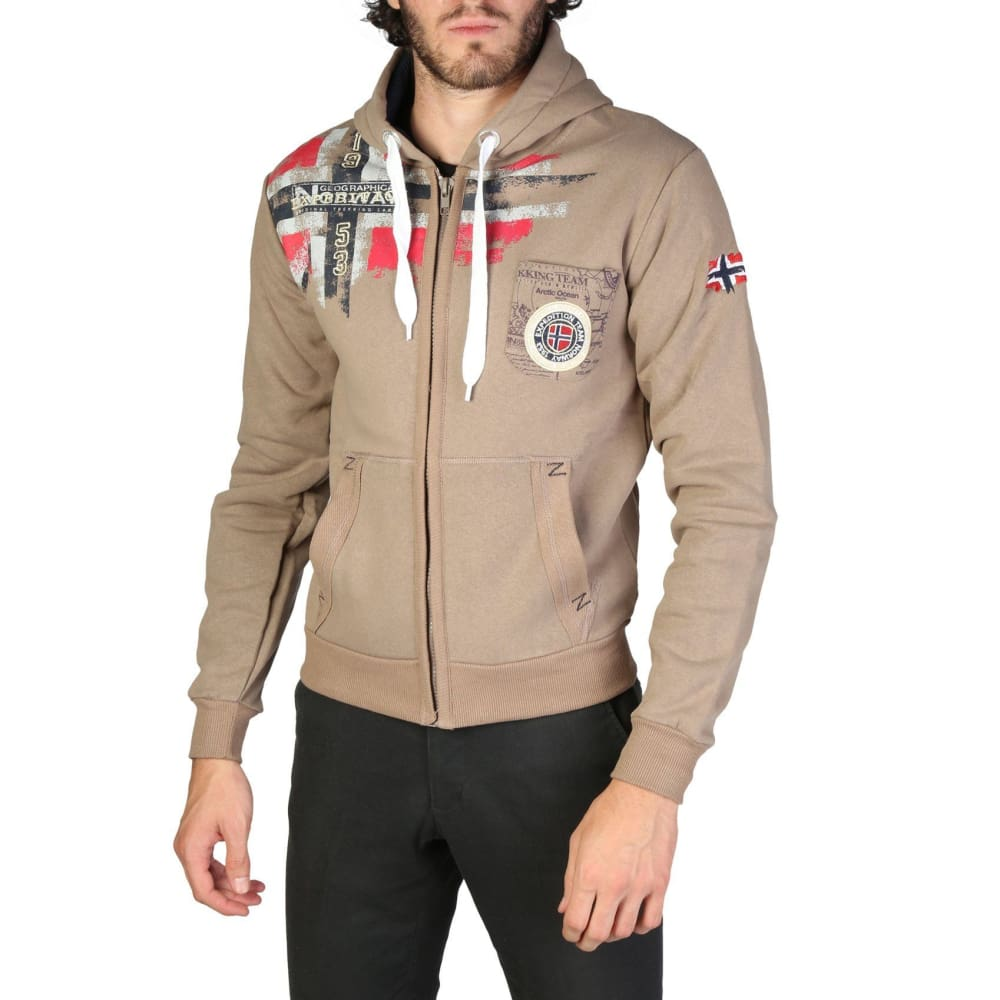 Geographical Norway 09 - Brown / S - Clothing Sweatshirts
