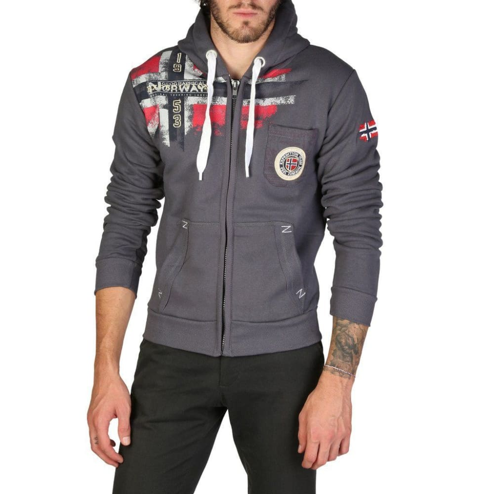 Geographical Norway 09 - Grey / S - Clothing Sweatshirts