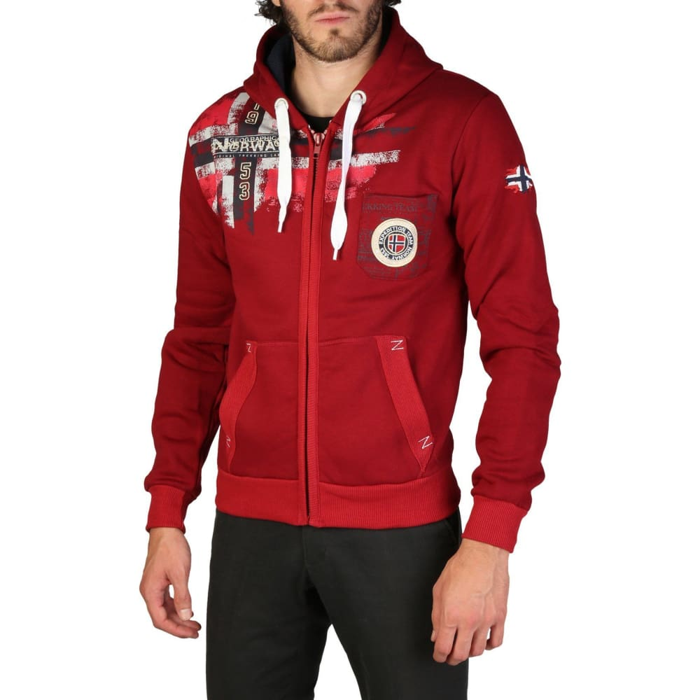 Geographical Norway 09 - Red / M - Clothing Sweatshirts