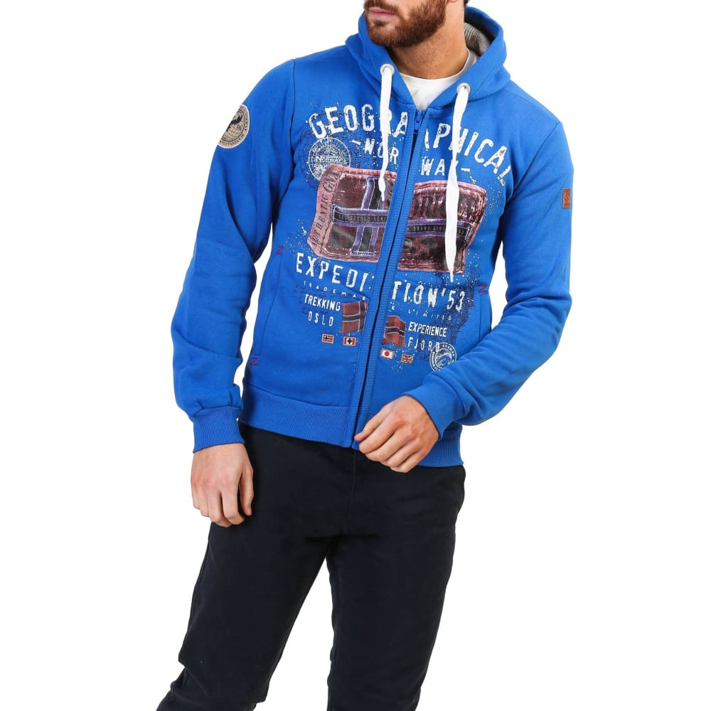 Geographical Norway 10 - Blue / S - Clothing Sweatshirts
