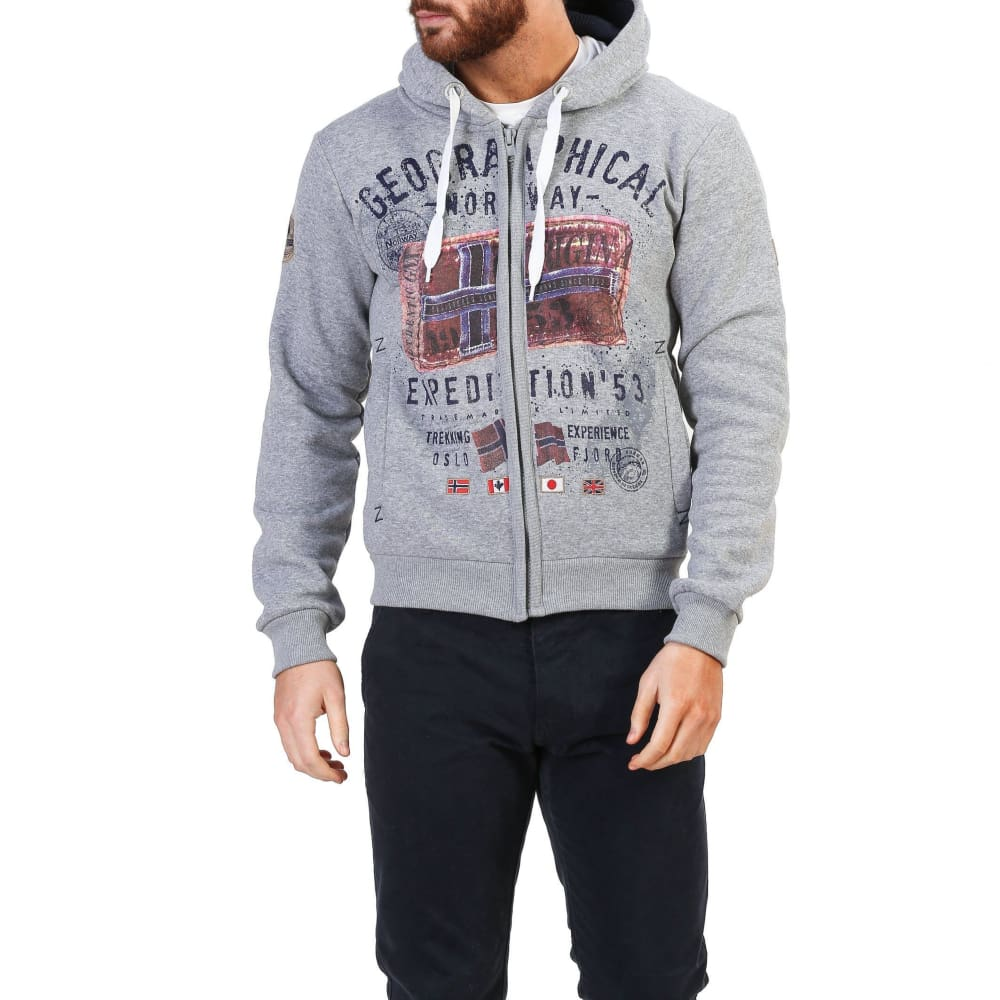 Geographical Norway 10 - Grey / S - Clothing Sweatshirts