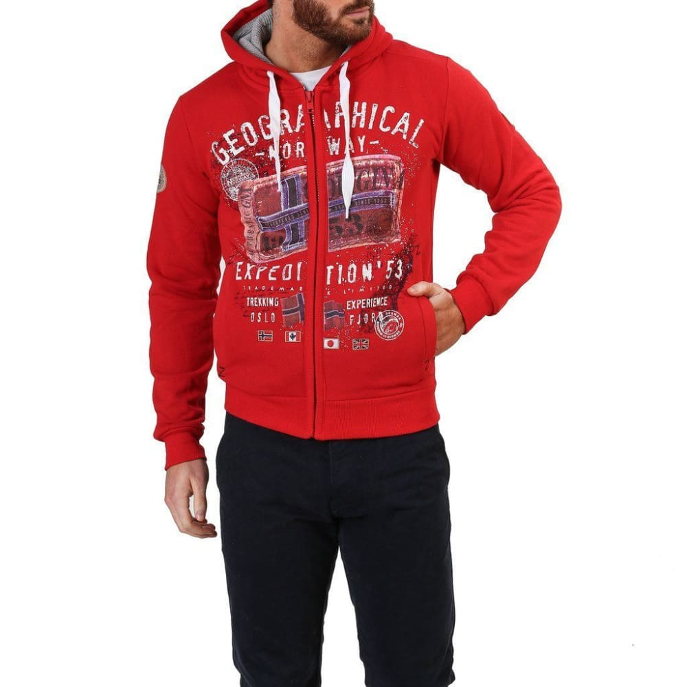 Geographical Norway 10 - Red / S - Clothing Sweatshirts