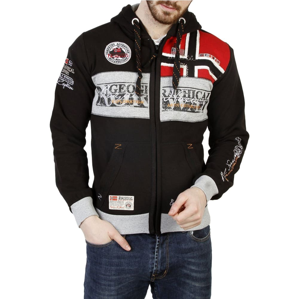 Geographical Norway 11 - Black / S - Clothing Sweatshirts