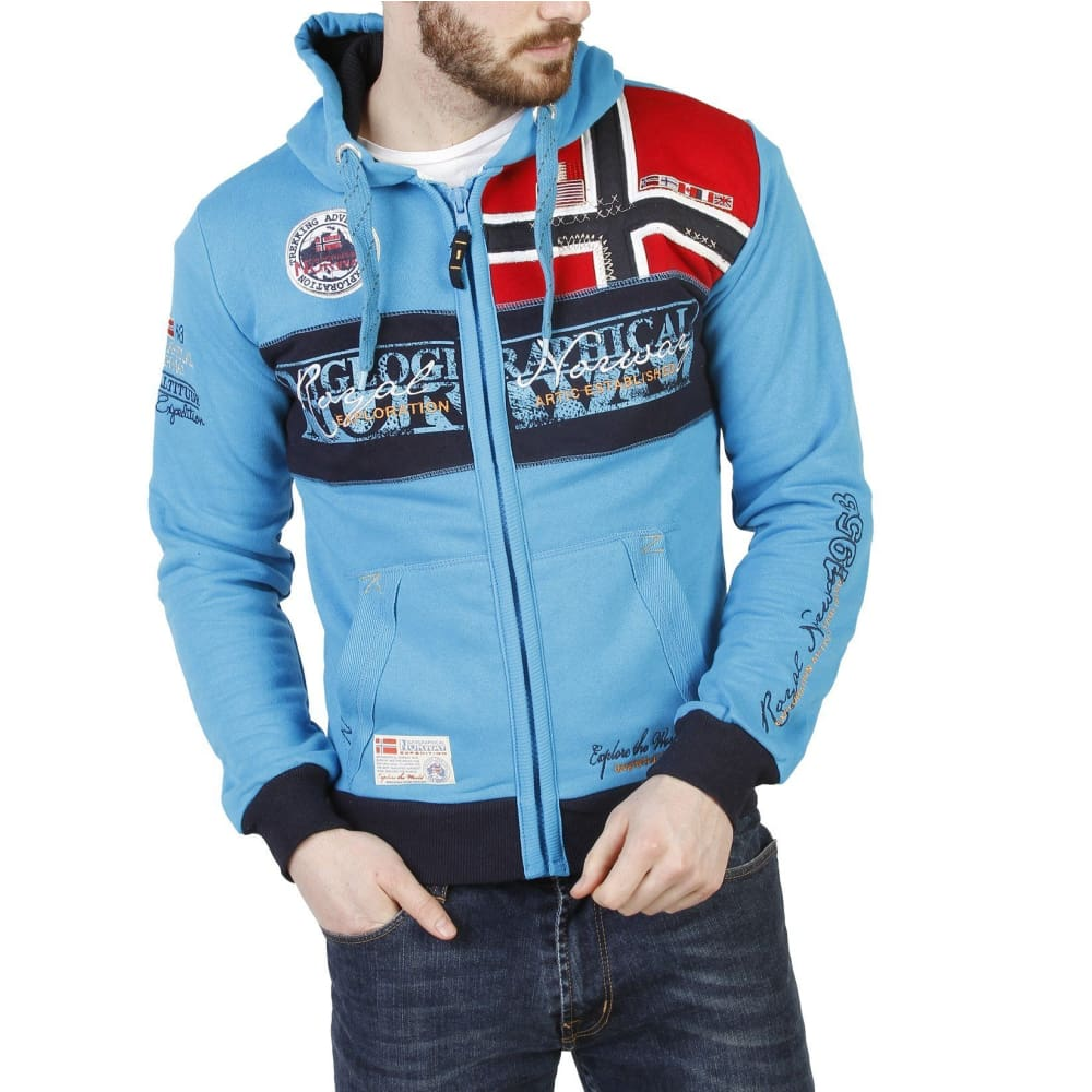 Geographical Norway 11 - Blue-1 / S - Clothing Sweatshirts