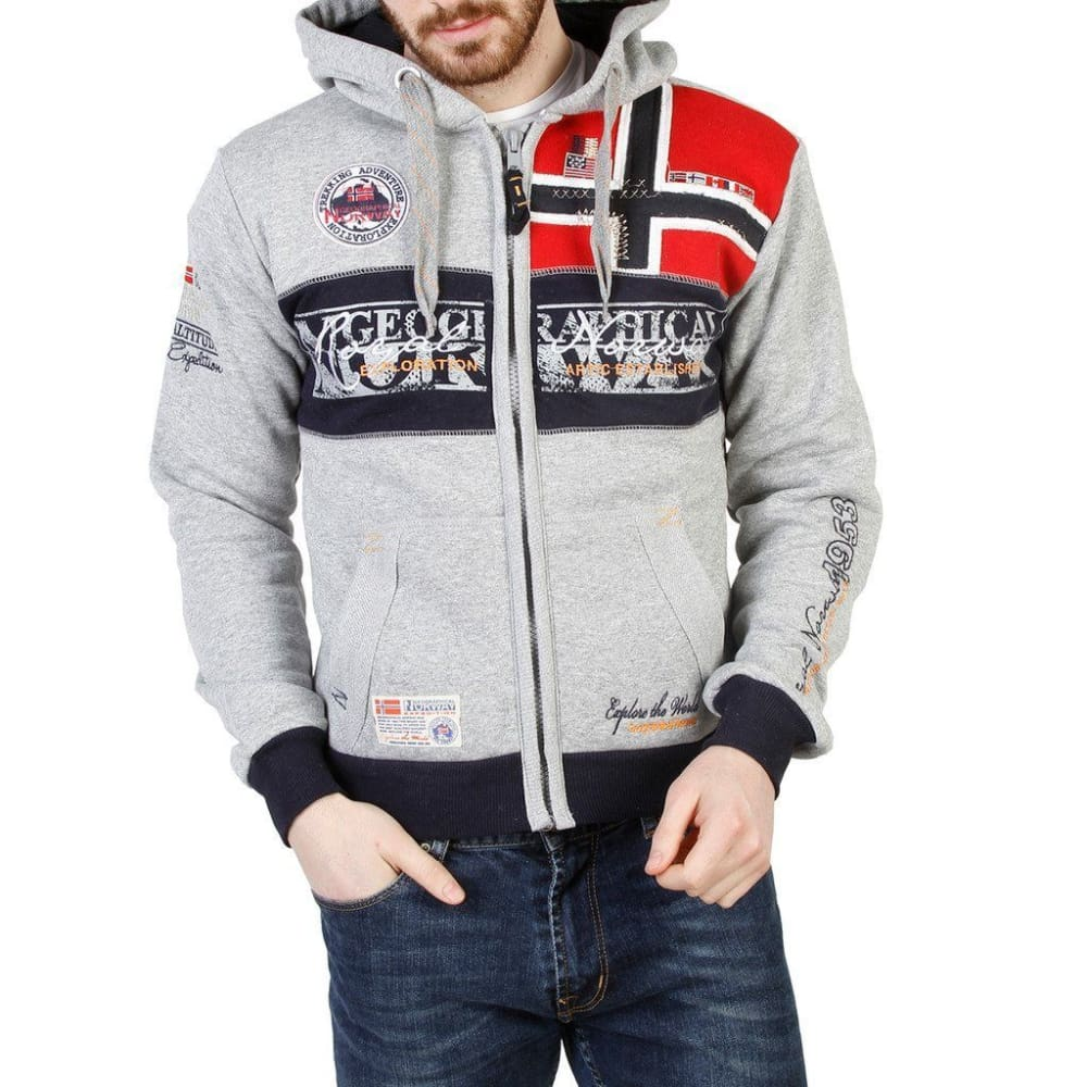 Geographical Norway 11 - Grey / S - Clothing Sweatshirts