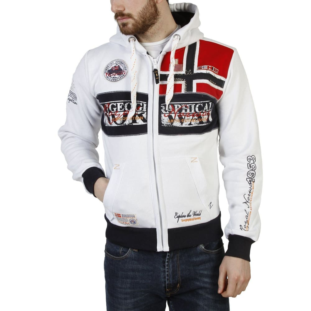 Geographical Norway 11 - White / S - Clothing Sweatshirts