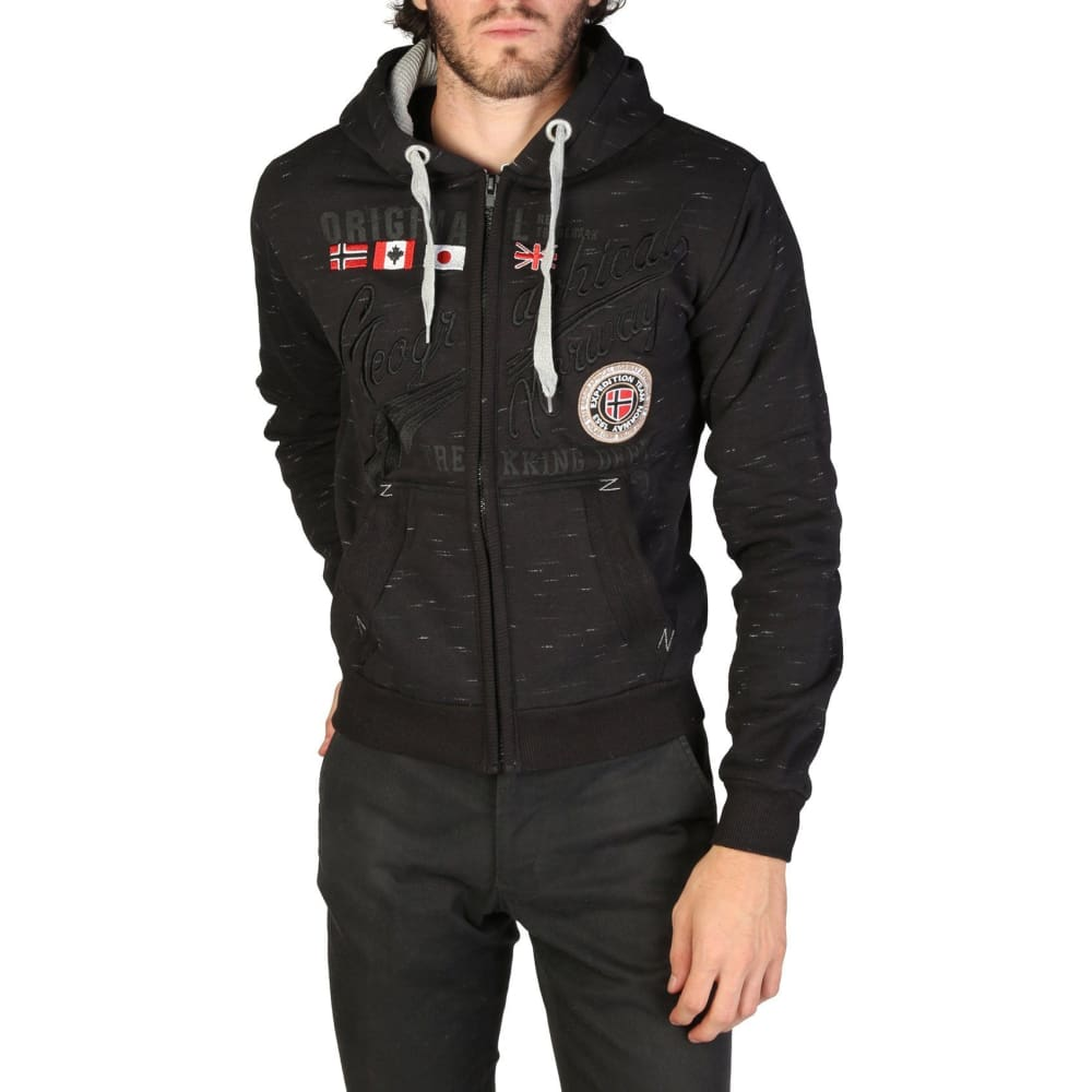 Geographical Norway 12 - Black / S - Clothing Sweatshirts