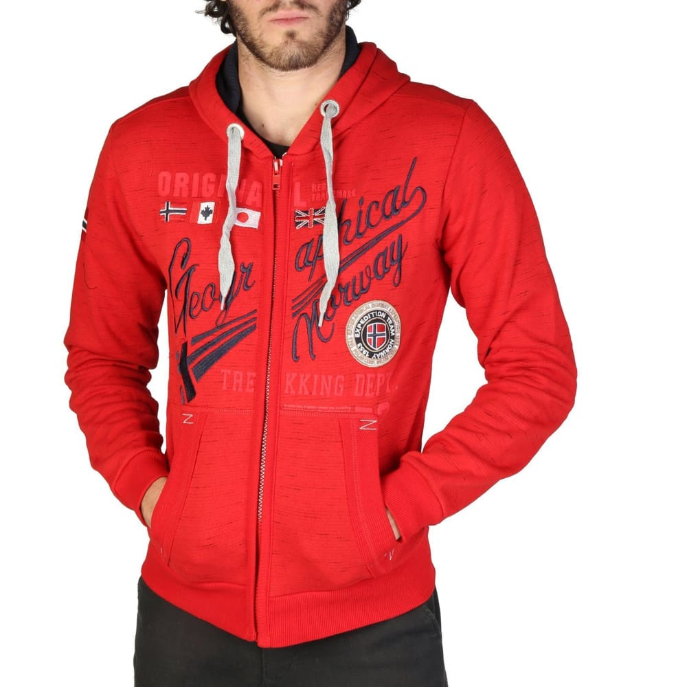 Geographical Norway 12 - Red / S - Clothing Sweatshirts
