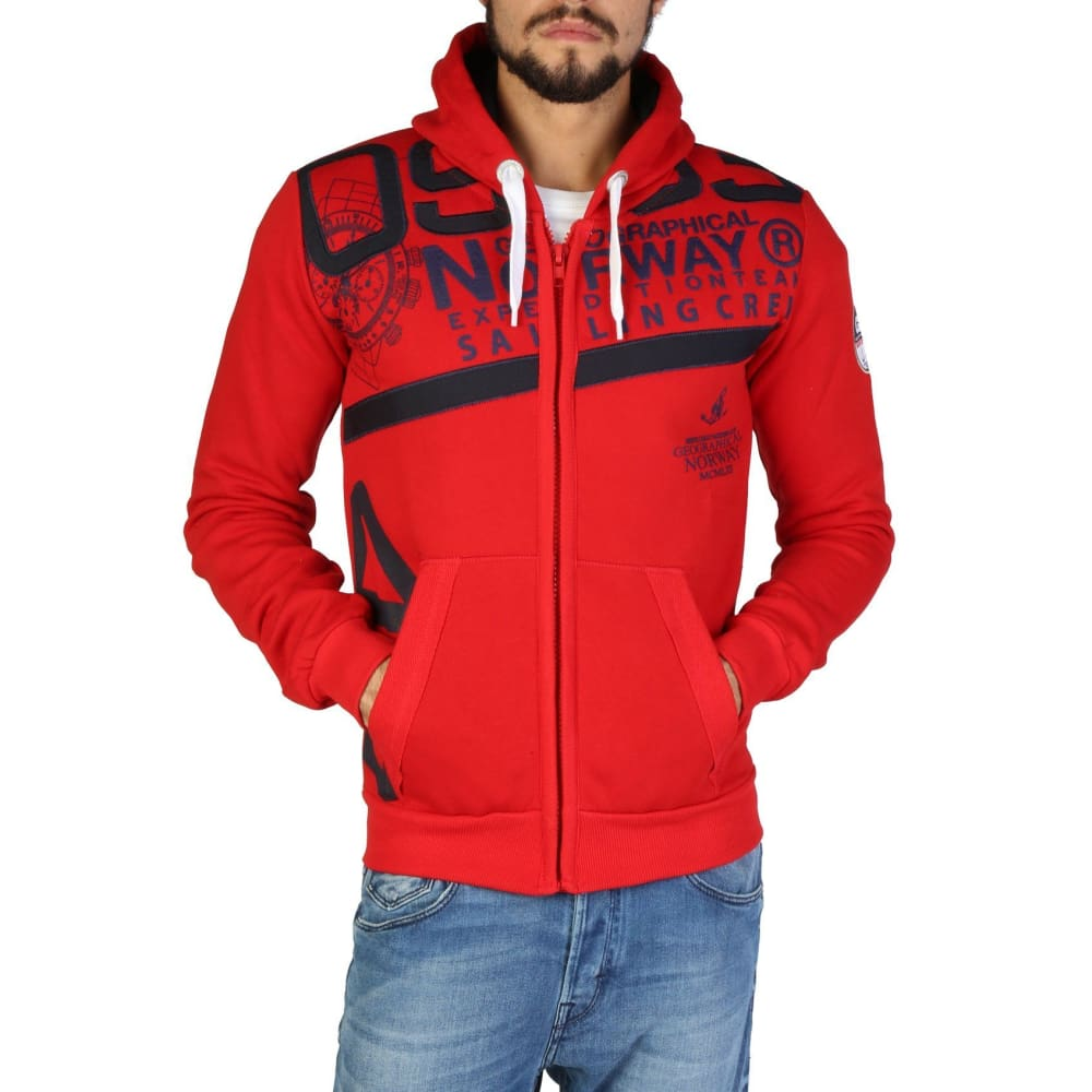 Geographical Norway 31 - Red / S - Clothing Sweatshirts