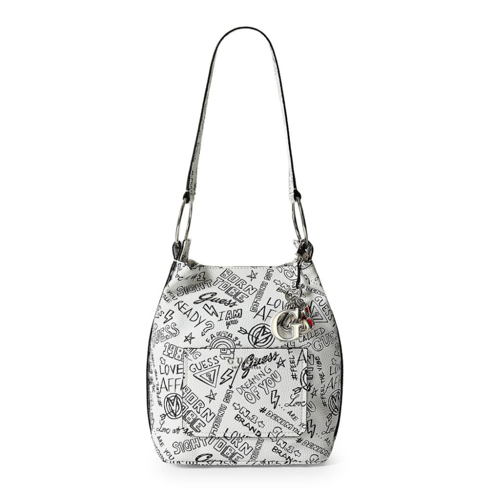 Guess - Hwgf67_00300 - White / Nosize - Bags Shoulder Bags