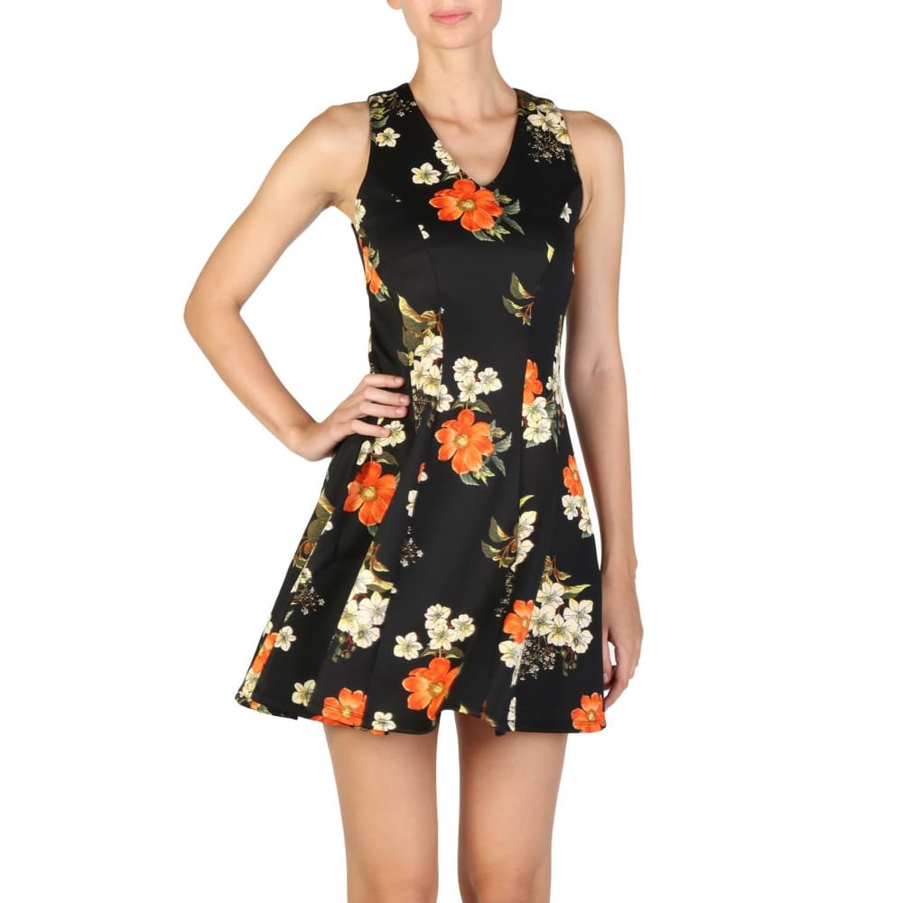 Guess - W74K11K72F0 - Clothing Dresses - Black / Xs - Clothing Dresses