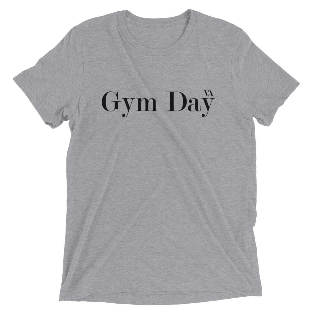 Gym Day Short Sleeve T-Shirt - Athletic Grey Triblend / Xs