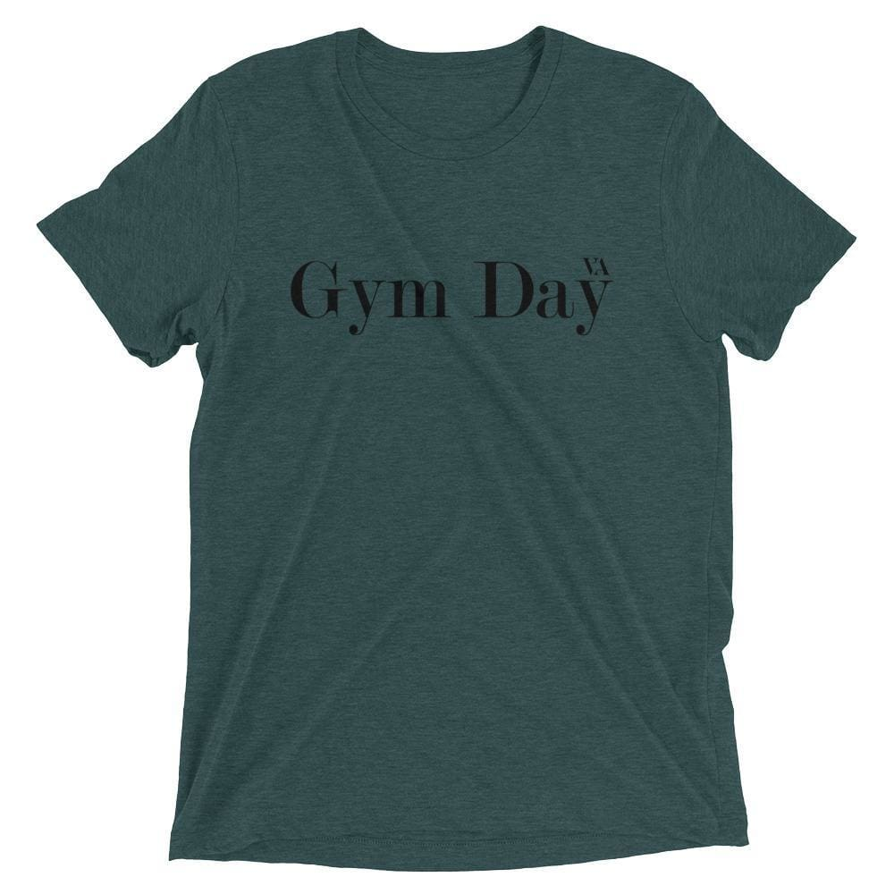 Gym Day Short Sleeve T-Shirt - Emerald Triblend / Xs