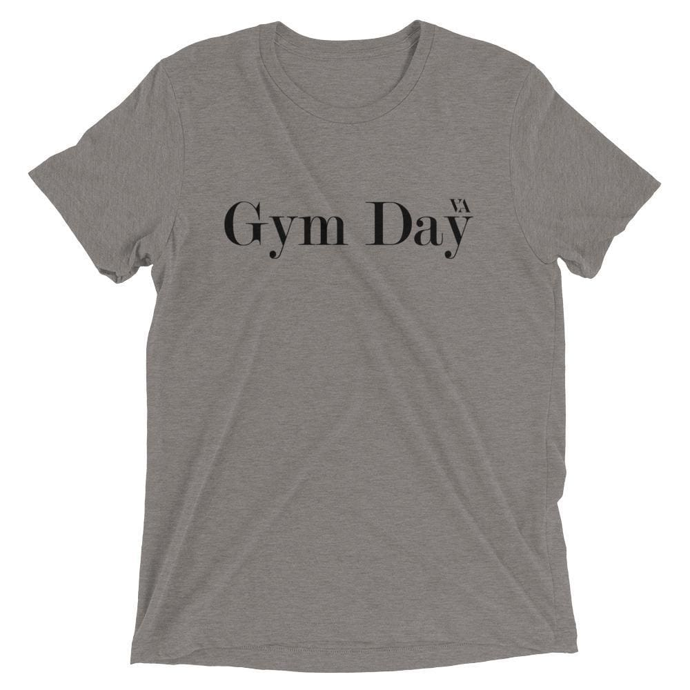 Gym Day Short Sleeve T-Shirt - Grey Triblend / Xs