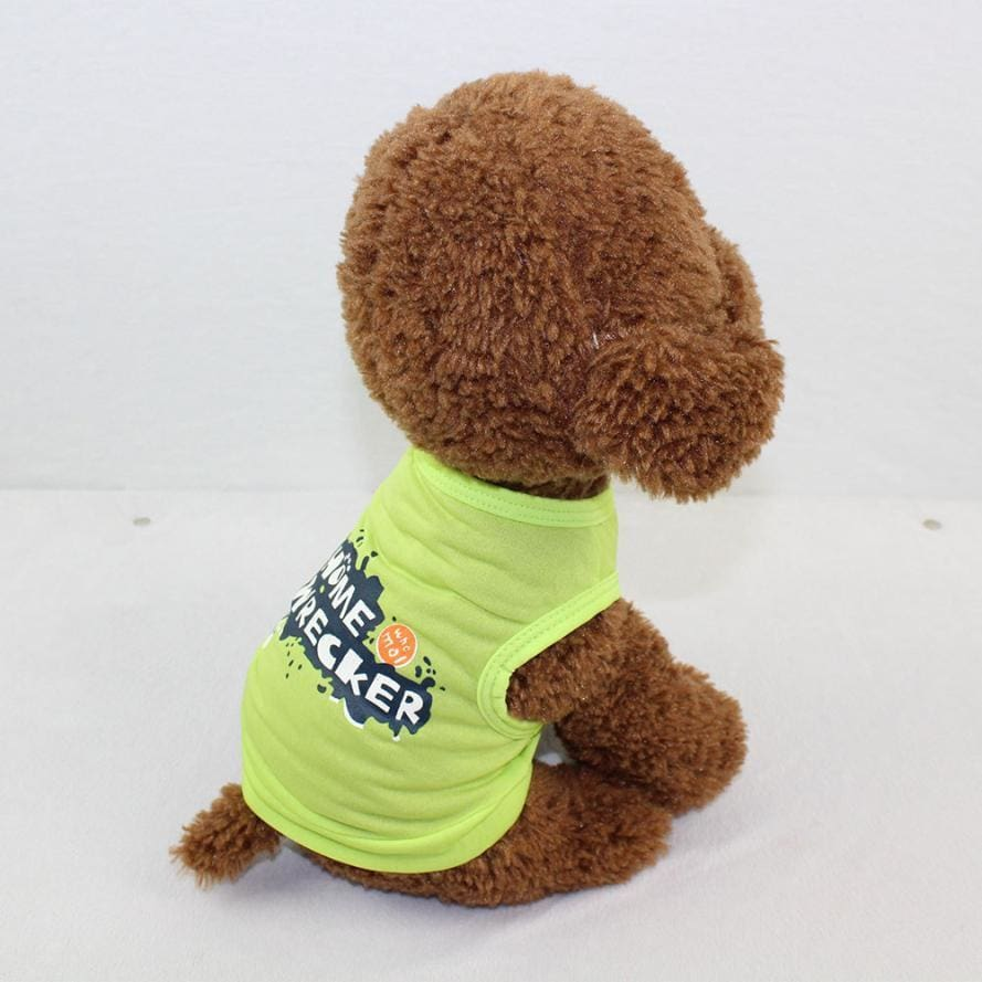 Home Wrecker Dog Tshirt - Dog Clothes
