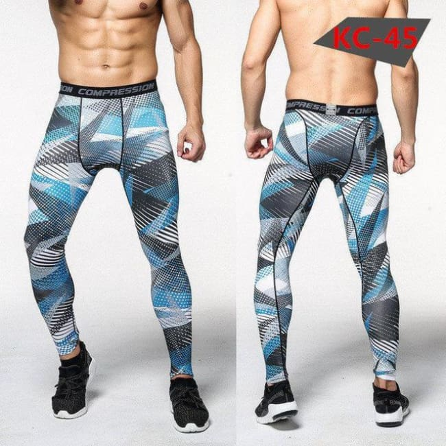 Hoxton Gym Camouflage Leggings - C13 / S - Leggings