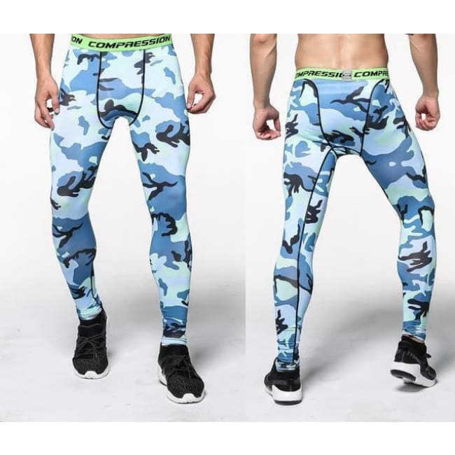 Hoxton Gym Camouflage Leggings - C2 / S - Leggings