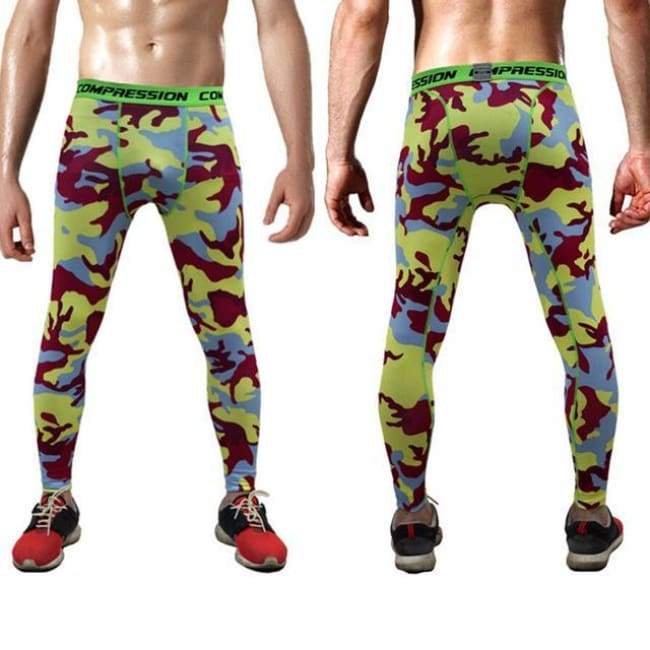 Hoxton Gym Camouflage Leggings - C3 / S - Leggings