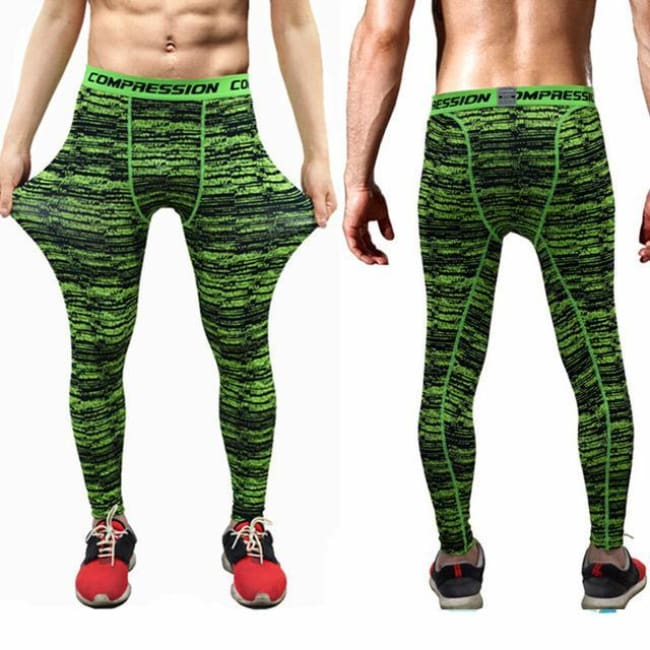 Hoxton Gym Camouflage Leggings - C5 / S - Leggings