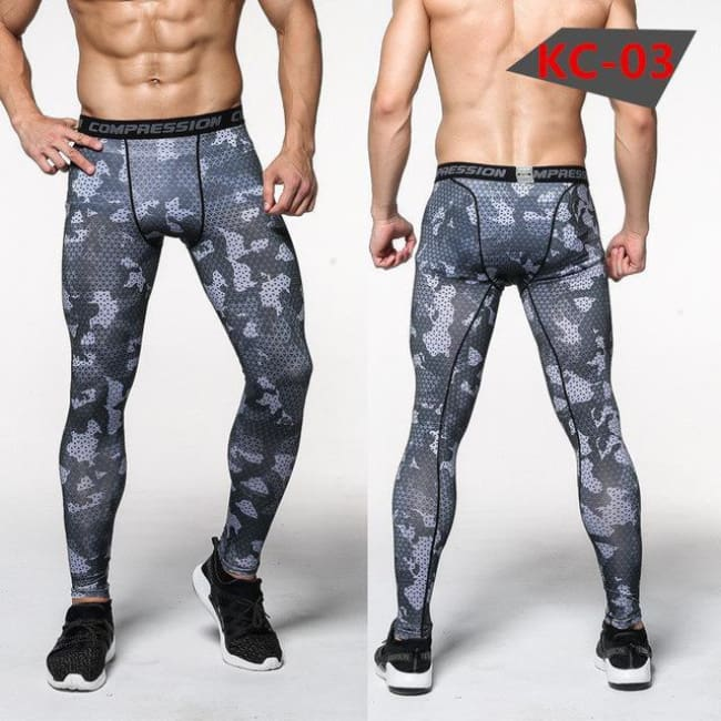 Hoxton Gym Camouflage Leggings - C6 / S - Leggings