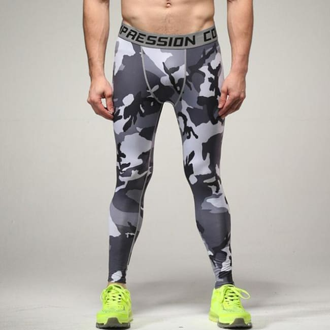 Hoxton Gym Camouflage Leggings - C7 / S - Leggings