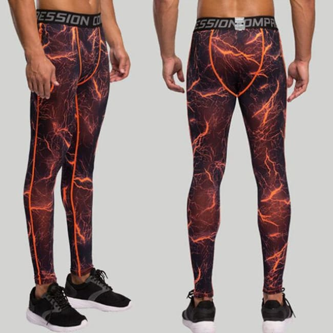 Hoxton Gym Camouflage Leggings - C9 / S - Leggings