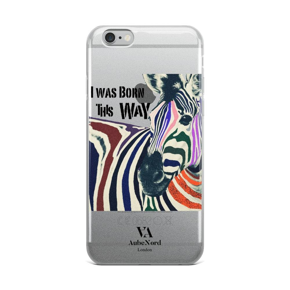 I Was Born This Way Iphone Case - Iphone 6 Plus/6S Plus - Mobile Case