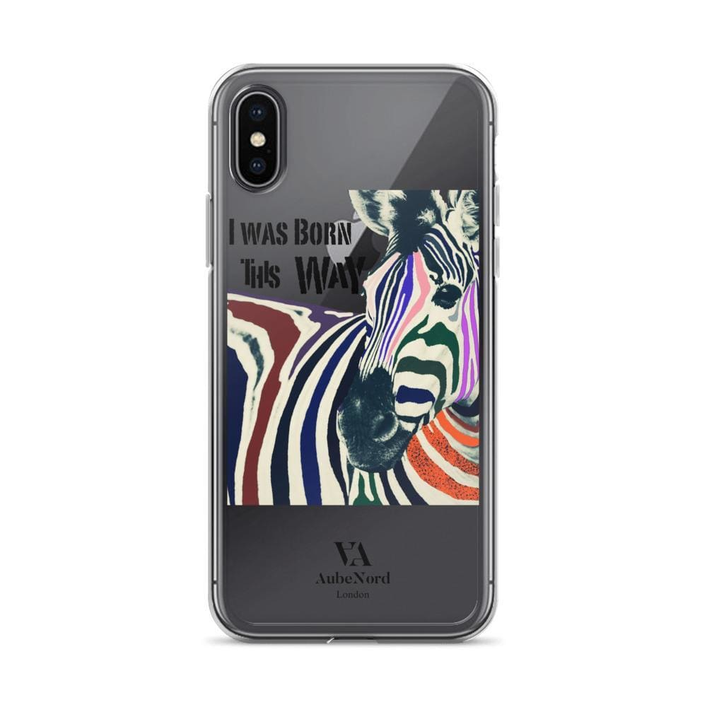 I Was Born This Way Iphone Case - Iphone X - Mobile Case