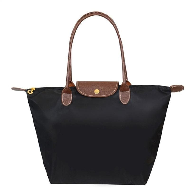 Katherine Tote Shoulder Bag - Black - Hand Bags