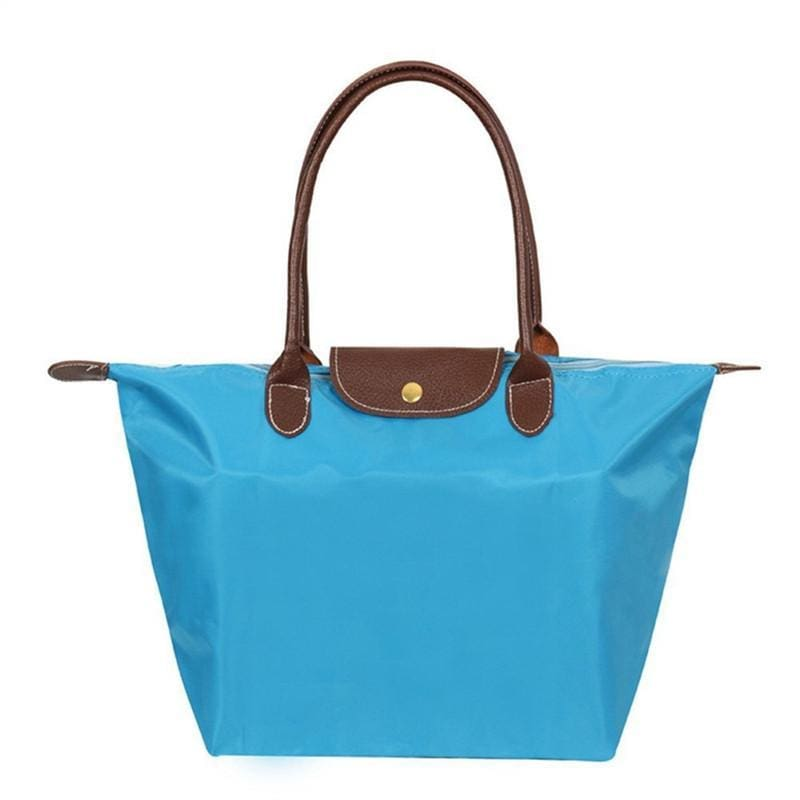 Katherine Tote Shoulder Bag - Blue - Hand Bags