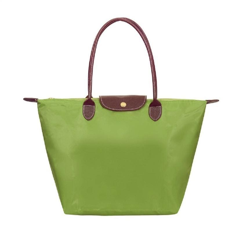 Katherine Tote Shoulder Bag - Green - Hand Bags
