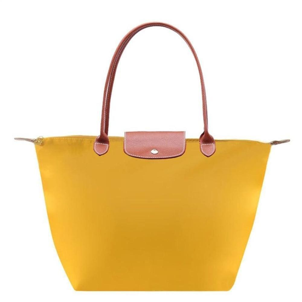 Katherine Tote Shoulder Bag - Yellow - Hand Bags