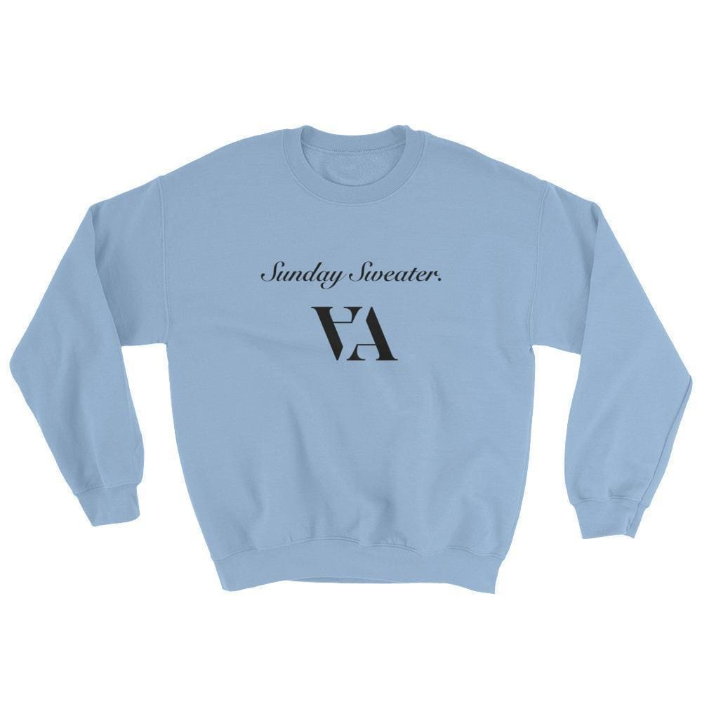 Lazy Sunday Sweater. - Light Blue / S - Sweater