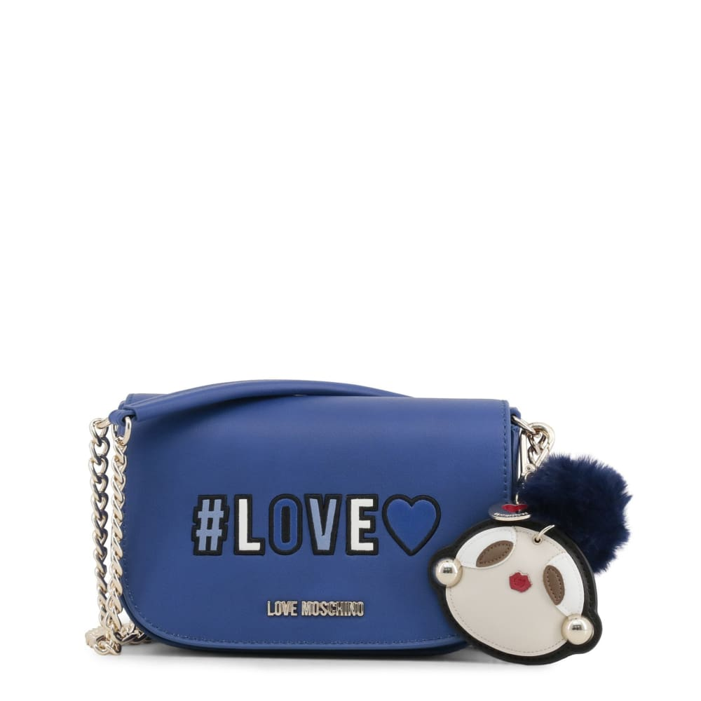 Love Moschino - Ma36 - Blue / Nosize - Bags Crossbody Bags