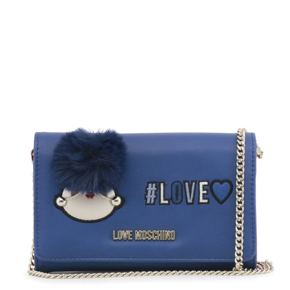 Love Moschino - Ma59 - Blue / Nosize - Accessories Wallets