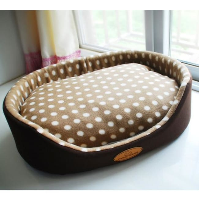 Luxury Dog & Cat Bed - Brown / S 35X30Cm - Dog Bed