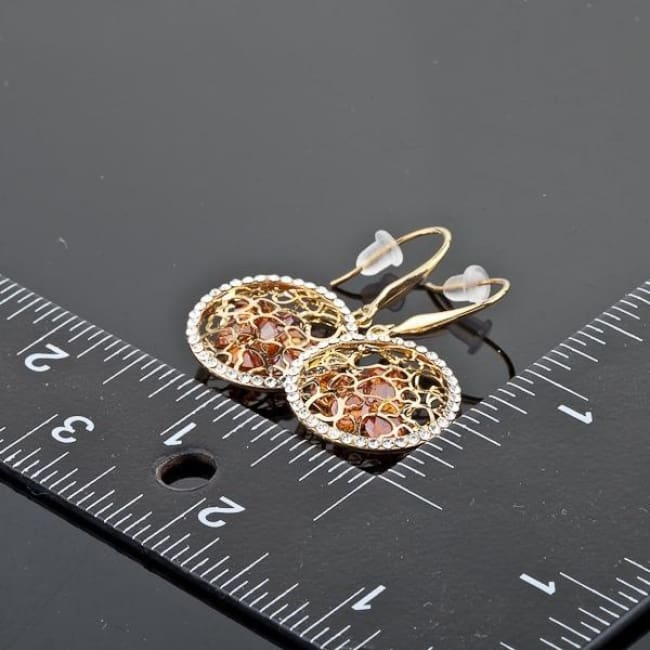 Lydia Cosmos Zurcinia Drop Earrings - Earrings