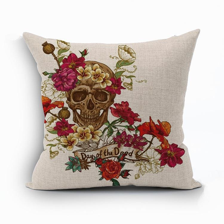 Mexican Sugar Skull Cushion Cover - 11 / 43X43Cm - Cushion