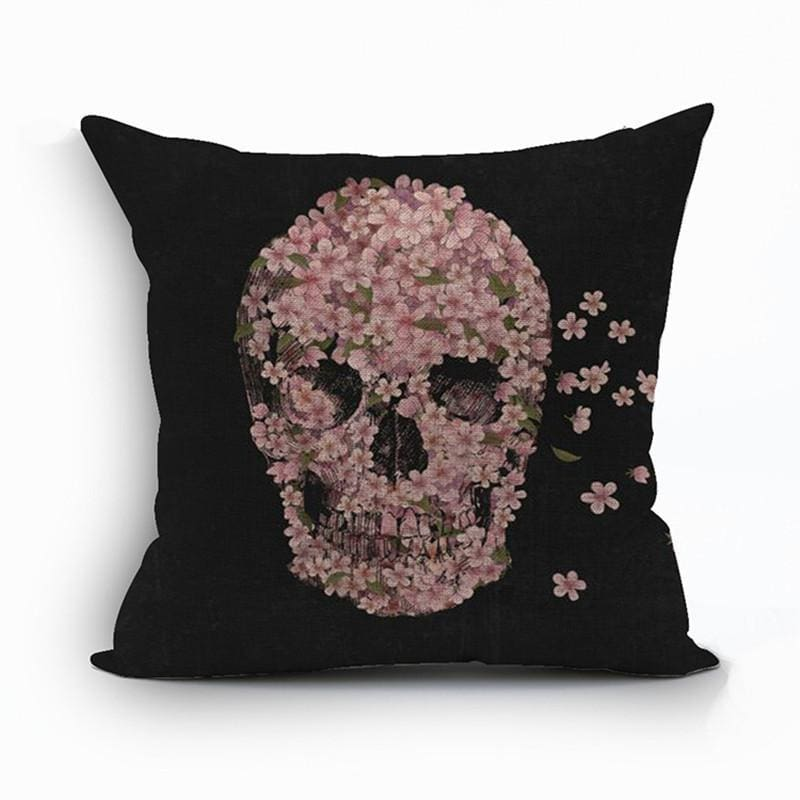 Mexican Sugar Skull Cushion Cover - 12 / 43X43Cm - Cushion