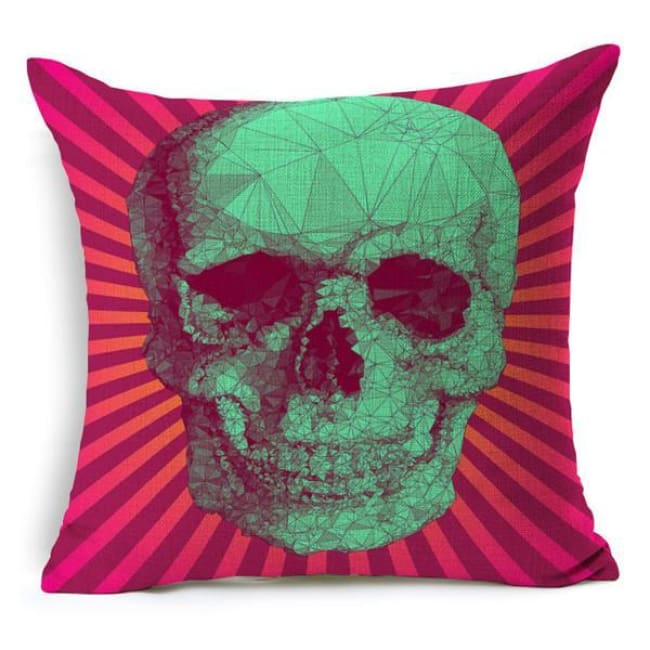 Mexican Sugar Skull Cushion Cover - 15 / 43X43Cm - Cushion
