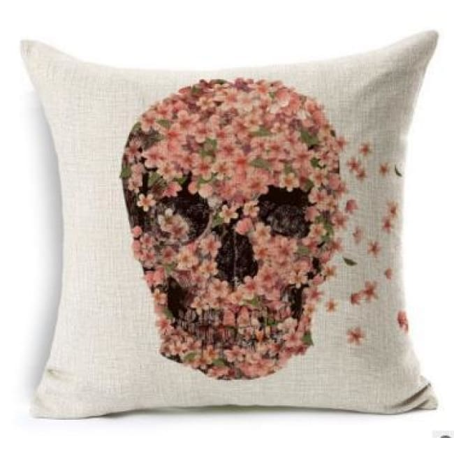 Mexican Sugar Skull Cushion Cover - 21 / 43X43Cm - Cushion