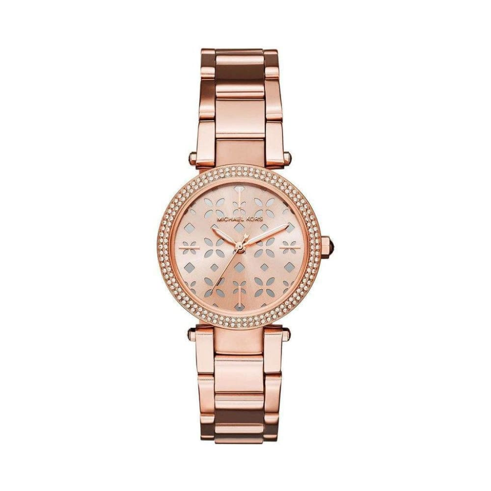 Michael Kors - Mk6470 - Orange / Nosize - Accessories Watches