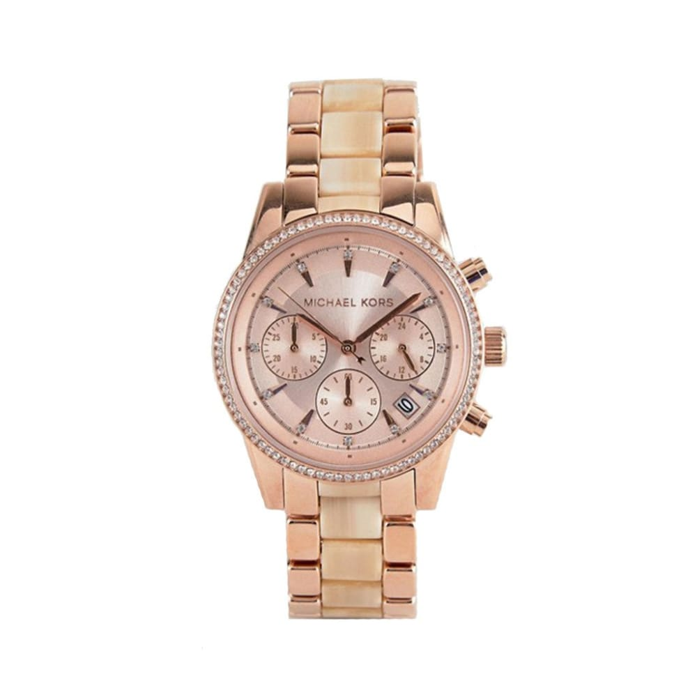 Michael Kors - Mk6493 - Orange / Nosize - Accessories Watches